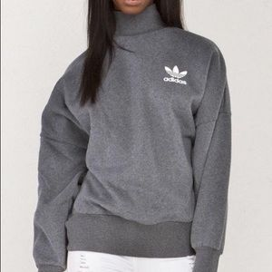 Adidas Mock Neck Sweater